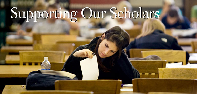 December 15th is the deadline for incoming student scholarship applications.