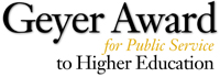 Geyer Award logo