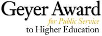 Geyer Award logo