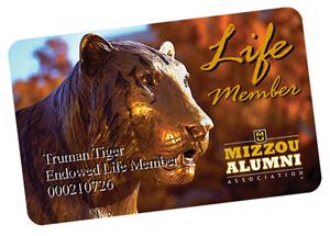 Life member card