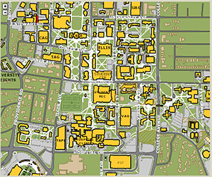 Rocky Mountain College Campus Map.Mizzou Alumni Association Map Of Traditions Plaza