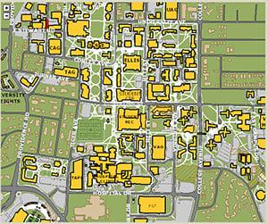 Map Of Mizzou Mizzou Alumni Association   Campus & Columbia Maps Map Of Mizzou