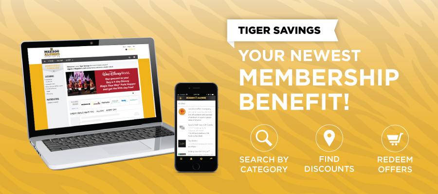 Mizzou Alumni Association - Discounts for Members