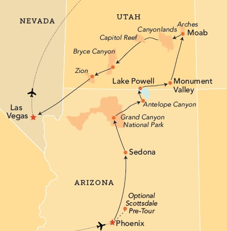 Mizzou Alumni Association Southwest National Parks